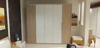 schlafzimmer lavida doppelbett mit 2 nachttischen und drehtürenschrank