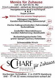 restaurant scharf restaurant catering
