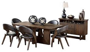 Ochsner Rustic Urban 8PC Dining Set Table, 6 Chair, Server ... Capri 7piece Ding Set Room Sideboards Edmton Canada Mobler Fniture Black Chrome And Oak Futuristic Gorgeous Luxury Purple Ding Room Chairs Chairs Etikaprojectscom Do It Yourself Project Elegant Modern Living Ikea 3432 With Regard 15 Amazing Contemporary Designs House Interior Island Home By Nigel Gee Ochsner Rustic Urban 8pc Table 6 Chair Sver Monday Inspiration Design