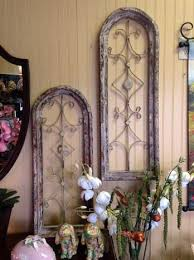 Rustic Metal Wall Art Wood And Home Decor Window