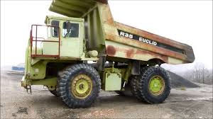 1993 Euclid R35 Off Road End Dump Truck Demo - YouTube Tachi Euclid R40c Rigid Dump Truck Haul Trucks For Sale Rigid Euclid R45 Old Trucks2 Pinterest Buffalo Road Imports Galion Roller Rounded Frame On Ashtray 1993 R35 Off Road End Dump Truck Demo Youtube R50_rigid Year Of Mnftr 1991 Pre Owned Eh 11003 Rigid Dump Truck Item 4852 Sold December 29 Constr R50 Articulated Adt Price 6687 Mascus Uk Used R35 1989 218 Ho 187 R30 Dumper Reymade Resin Model Fankitmodels Cstruction Classic 1940s R24 And Nw Eeering Crane Hitachi Euclidr400 1999