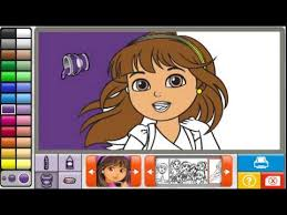 Dora The Explorer Coloring Games