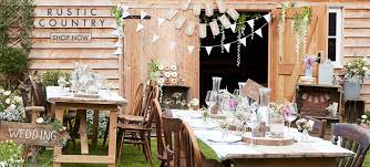 Wedding Party And Reception Decorations