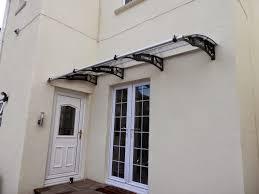 patio door awnings uk front door canopy home zone