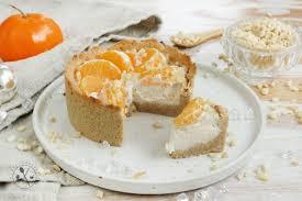 low carb mandarinen cheesecake paleo vegan