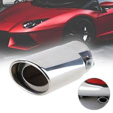 Fitur Stainless Steel Car Tail Rear Chrome Round Exhaust Pipe Tail ... Best Chrome Exhaust Tips For Trucks Amazoncom My Truck Rolling Coal 12in Diesel Tip Youtube Patriot Exhaust H7321 Street Rod Megaphone Tip Chrome Pilot Automotive Ex1024 Omega Black Walmartcom Awe Tuning C7 Audi S7 40t Track System Car Auto Ppipe Grilled Shark Fin Stainless Steel Muffler Dual Round Double Wall Forward Slash Cut Tips Assured Company Blog 47784 Monster Single Exit Use With Mustang 212 Turndowns Restoparts Chevelle 196972 Oval Opgicom