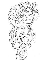 DREAM CATCHER To Print This Free Coloring Page Dreamcatcher Tattoo Designs