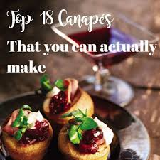 canapes but 18 canapes you can actually rascal roses
