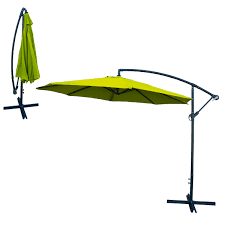 Patio Umbrella Offset 10 Hanging Umbrella by Dailyselections Net