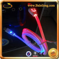 1m Led Visible Light up Usb Charger Cable Iphone 4 4s 5 5s 5c