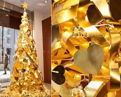 2 Million Dollars Pure Gold Christmas Tree By Ginza Tanaka 3