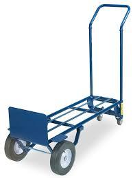 100 Convertible Hand Truck Uline Steel With Solid Wheels H966 Uline