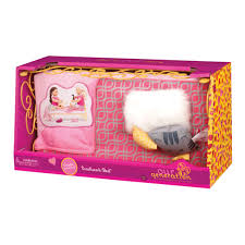 Sweet Dreams Scrolllwork Bed Our Generation Dolls