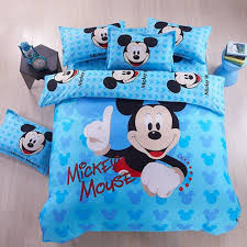 Mickey Mouse Bedding Twin by Cartoon Bedding Sets Mickey Mouse Duvet Cover Set Polyester 3pcs