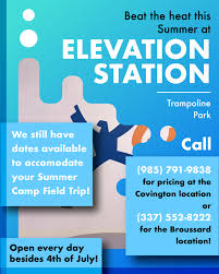Lafayette's Premier Trampoline Park: Elevation Station