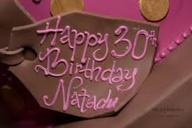 Happy Birthday Natacha