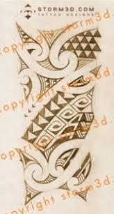 Maori Forearm Tribal Tattoo Design