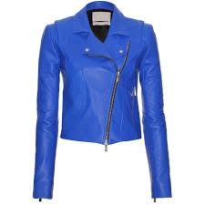 women u0027s blue leather biker jacket u2013 fashionable jacket 2017 photo blog