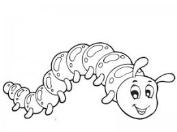 Butterfly Coloring Pages Caterpillar