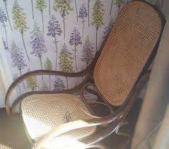 Vintage Banana Rocking Chair by Vintage Bentwood Rocking Chair Makeover