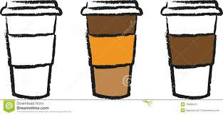Coffee To Go Cup Clipart