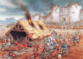 the siege of harfleur a siege of toulouse occurred from october 1217 to june 1218 during
