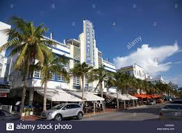 miami south deco hotel breakwater and the deco historic district drive