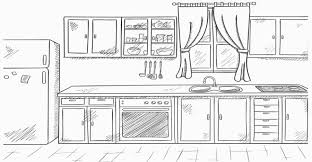 Clean Kitchen Clipart Black And White Of Clip Art 1141 3197144498 For Best