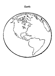 Fresh Globe Coloring Pages
