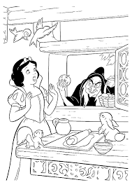 66 Snow White Pictures To Print And Color Cl 05 34 50