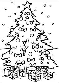 Free Coloring Pages For Christmas Tree