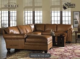 Leather 200 sectional by Stickley from Paul Schatz furniture