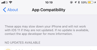 iPhone protip How to check which apps work on iOS 11 before updating