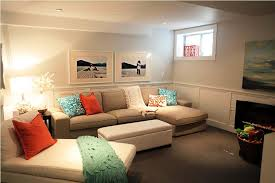How to DIY Basement Family Room Ideas