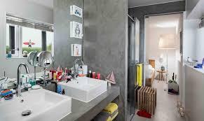 das authentische badezimmer minimalismus versus