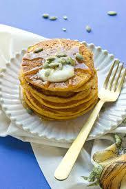 Easy Healthy Pumpkin Pancake Recipe by Gluten Free Pumpkin Pancakes Love U0026 Zest