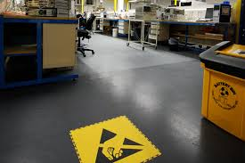 interlocking esd flooring for commerce and industry ecotile flooring
