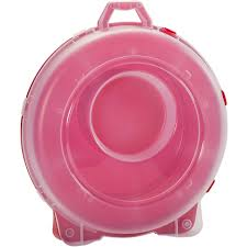 Christmas Tree Storage Container by Decoration Ideas Entrancing Round Clear And Round Pink Plastic
