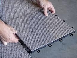 interlocking carpet tiles basement new decoration popular