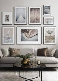 fotowand in de woonkamer maak een mooie foto