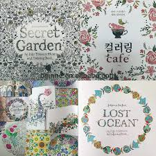 DHL Fedex Free Shipping 2015 Factory Direct Selling Secret Garden Adult Coloring Strongbook