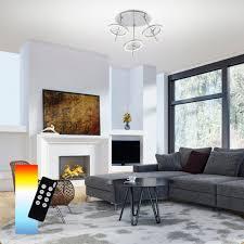 led deckenleuchte q smart home 3 flammig deutsche