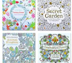 50pcs Adult Coloring Books 4 Designs Secret Garden Animal Kingdom Fantasy Dream Enchanted Forest Kids Painting Colouring Y081