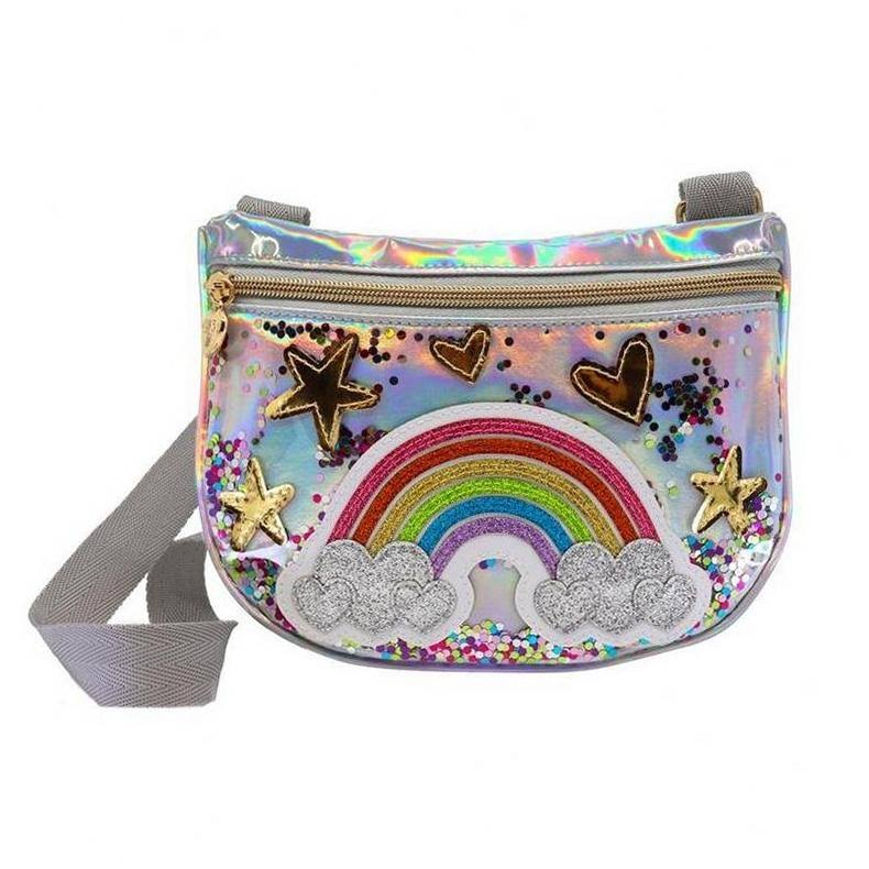 Charm It! Crossbody Bag Rainbow