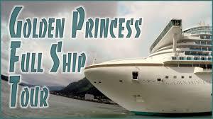 Star Princess Baja Deck Plan by Golden Princess Cruise Ship Tour Youtube