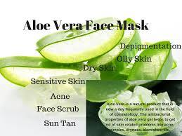 Aloe Vera face mask for Bright And Beautiful Skin
