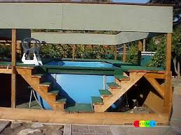 Above Ground Pool Ladder Deck Attachment by Best 25 Pool Ladder Ideas On Pinterest Above Ground Pool