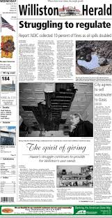 11/26/14 - Williston Herald By Wick Communications - Issuu Rolling Along 12014indd Property Details Band Day 2017 Community Willistonheraldcom Black Gold Express Heavy Haul Trucking Membership Directory Members As Of August 1 Pdf Welcome 112614 Williston Herald By Wick Communications Issuu Annual Hard Spring Wheat Show Nd Home Facebook The Daily Rant 2015 Black Gold Rush A New American Dream Teaser