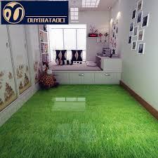 floor green grass antique brick bedroom non slip floor tile
