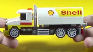 Shell Lego Tanker Truck Building Instructions (Set 40196) - YouTube